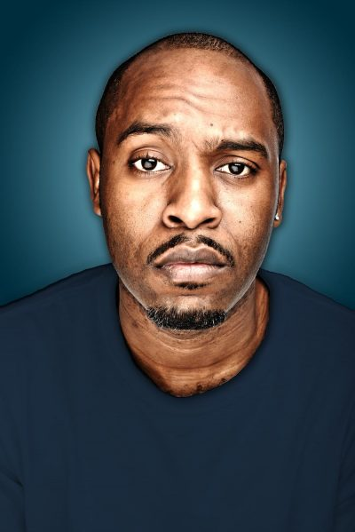 Dane Baptiste Blue Background
