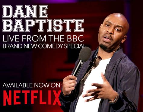 Dane Baptiste Netflix - Live from the BBC